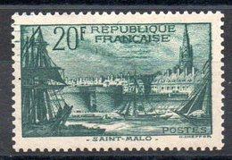 FRANCE - YT N° 394 - Neuf * - MH - Cote: 45,00 € - France
