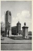 HERSTAL   PLACE  LICOUR   EGLISE ET MONUMENT - Herstal