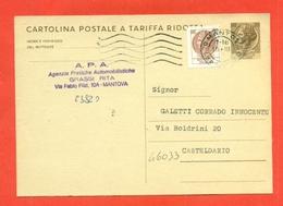 INTERI POSTALI-C172 - 6. 1946-.. Repubblica