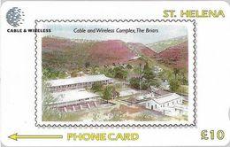 St. Helena - C&W Complex 100th Anniversary, 327CSHB, 1.200ex, Used - Sainte-Hélène