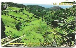 St. Helena - Sandy Bay Ridges, Views Of St. Helena, 325CSHE, 1.200ex, Used - Sainte-Hélène