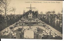 CIMETIERE DE RHEES-HERSTAL    TOMBE DES SOLDATS BELGES - Herstal