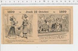 2 Scans Humour Théatre Sarah (Bernhardt ??) Vieux Tacots Teuf-teuf Cabinet (de Toilette) WC Hotel 226Z - Non Classificati