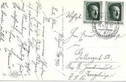 Stuttgart, Carte Postal 1937 Voir 2 Scan - Marcophilie - EMA (Empreintes Machines)