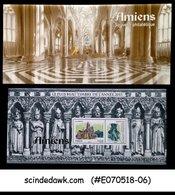 FRANCE - 2013 AMIENS CITY ARCHITECTURE - FOLDER ( 1-MIN/SHT MNH) - Maximum Cards