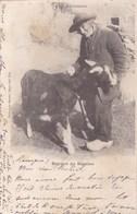 Cpa PAYSAN DU SEGALAS 1902 - France