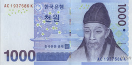 South-Korea 1000 Won (P54) 2007 -UNC- - Corée Du Sud