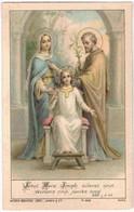1 Mooi Heilig Prentje - Images Religieuses