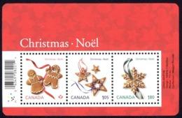 Canada Sc# 2581 MNH Souvenir Sheet 2012 Christmas Cookies - Nuevos