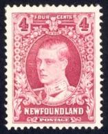 Canada Newfoundland Sc# 175 MNH 1931 4c Rose Prince Of Wales - Newfoundland