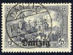 Danzig Sc# 13 Used 1920 3m Overprints - Danzig