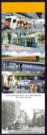 Finland Sc# 1289 Used Booklet Pane 2007 Public Transportation - Gebruikt