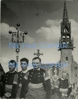 SAINTE ANNE LA PALUD Pardon Avec Croix Retrouvée Vers 1945 Bretagne Finistère 29 JOS LE DOARE - Luoghi