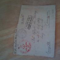 1947 VIET MINH CACHETS MARINE ROUGE HAI-DOAN RARE - Vietnam