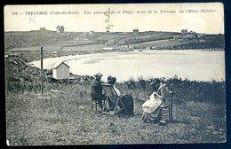 Cpa Du 22   Trestel Vue Générale De La Plage , Prise De La Terrasse De L' Hôtel Médellec LZ8 - Penvénan