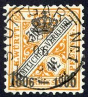 Germany Wurttemberg Sc# O115 Used Official 1906 30pf Numeral - Wuerttemberg