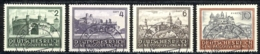 Poland Occupation Sc# N100-N103 Used 1943-1944 Scenes - Gouvernement Général