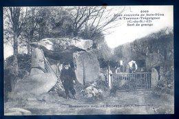 Cpa Du 22   Trevoux Tréguignec Allée Couverte De Bois Péou -- Sert De Grange LZ8 - Penvénan