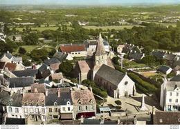 D50  LES PIEUX  L'Église    En Avion Au Dessus De - France