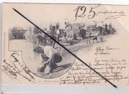 La Valbonne (01) Camp- Cuisine Et Lessive (carte Précurseur De 1903) - France