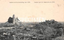 Locre Na De Verwoesting Van 1918 - Loker - Heuvelland