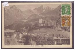 DISTRICT DU PAYS D'ENHAUT - CHATEAU D'OEX - B ( MINI PLI D'ANGLE ) - VD Vaud