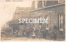 Fotokaart Locres Route De Kemmel - Loker - Heuvelland