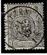 +MW-4350   MONTZEN      Dubbel Cirkel   OCB  23 - 1866-1867 Kleine Leeuw