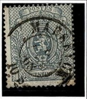 +MW-4355   MAESEYCK      Dubbel Cirkel   OCB  23 - 1866-1867 Kleine Leeuw