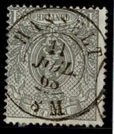 +MW-4364   HASSELT     Dubbel Cirkel   OCB  23 - 1866-1867 Kleine Leeuw