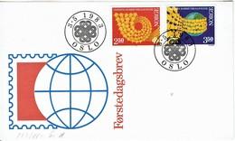 Norwegen / Norway - Mi-Nr 887/888 FDC (T340) - 1983
