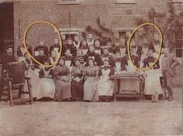 Opwyck, Opwijk, Melkerijschool, 3 Scans, Unieke Foto Op Karton, 23 X 17 CM, Zie Beschrijving - Opwijk