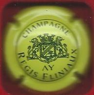 Capsule CHAMPAGNE Régis Fliniaux Jaune Et Noir - Unclassified