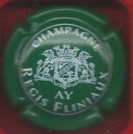 Capsule CHAMPAGNE Régis Fliniaux Vert Foncé Et Blanc - Unclassified