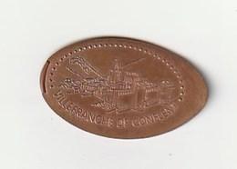 Alongada Elongated Allongée VILLEFRANCHE DE CONFLENT - Monedas Elongadas (elongated Coins)