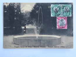 C. P. A. : Namibia : Deutsch Südwest Afrika, WINDHUK : Truppen Garten Mir Krieger Deukmal, 3 Stamps 1927 - Namibie