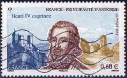 4698   HENRI IV  OBLITERE ANNEE 2012 - Oblitérés