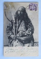 C. P. A. : Iran, PERSE : Dervische Timbre, Postée De ISPAHAN En 1905 - Iran