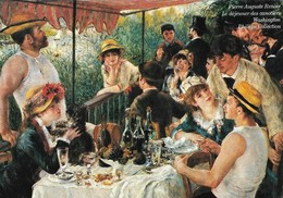 Auguste Renoir Le Déjeuner Des Canotiers (2 Scans) - Pintura & Cuadros