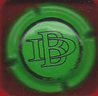 Capsule CHAMPAGNE Dissaux-Brochot Vert Et Noir - Unclassified