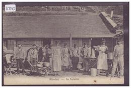 DISTRICT D'AIGLE - RIONDAZ - LA CUISINE MILITAIRE - B ( PLI D'ANGLE ) - VD Vaud