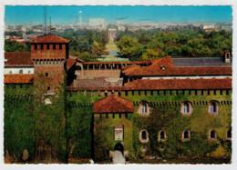 MILANO    CASTELLO   SFORZESCO         (VIAGGIATA) - Milano