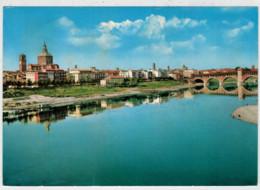 PAVIA    FIUME   TICINO    PANORAMA               (VIAGGIATA) - Pavia