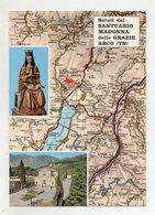 Arco (Trento) - Saluti Dal Santuario Madonna Delle Grazie -  Non Viaggiata - (FDC16608) - Trento