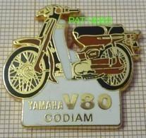 YAMAHA V80 CODIAM  CYCLOMOTEUR  MOBYLETTE  MOTO    En Version BALLARD - Motorfietsen