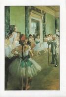 Edgar Degas La Classe De Danse (2 Scans) - Pintura & Cuadros