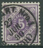 Württemberg Dienstmarken 1875 Ziffer In Raute 101 A Gestempelt - Wuerttemberg