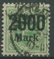 Württemberg Dienstmarken 1923 Mit Aufdruck 172 Gestempelt - Wuerttemberg