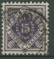 Württemberg Dienstmarken 1921 Ziffer In Raute 151 Gestempelt - Wuerttemberg