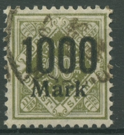 Württemberg Dienstmarken 1923 Mit Aufdruck 171 Gestempelt - Wuerttemberg